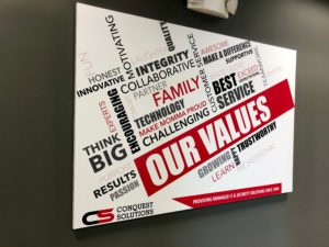 Conquest Core Values